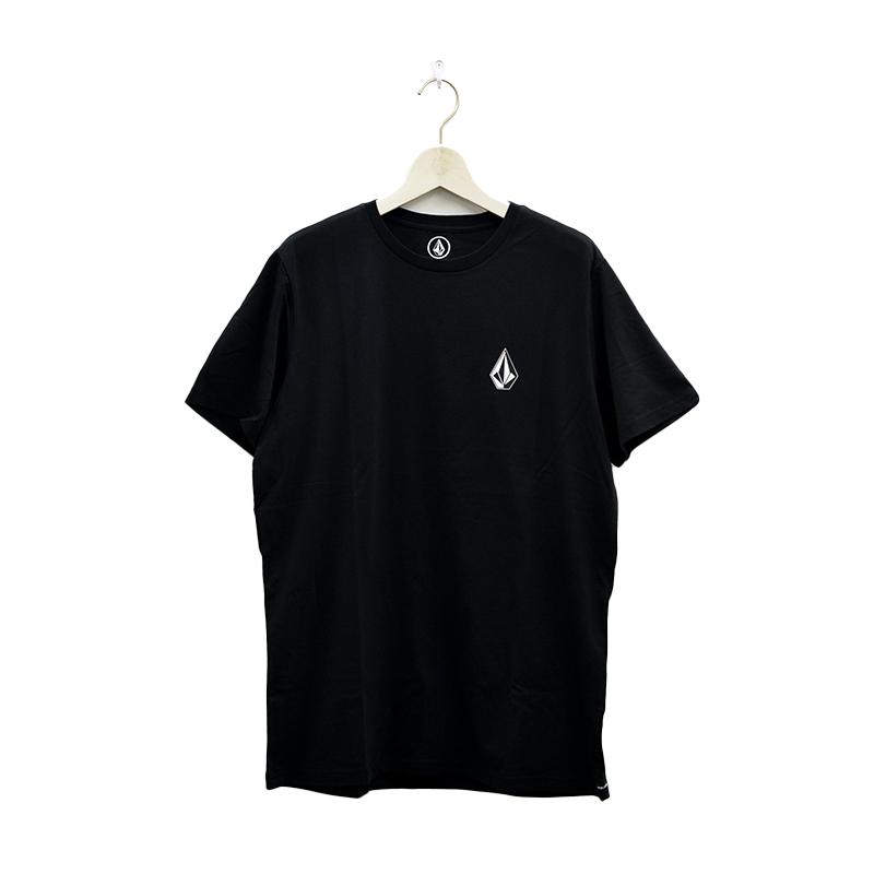 【30%OFF】 VOLCOM ボルコム メンズ アジアンフィットTシャツ 半袖 AF011908 Apac Ddly Stn S/S Tee [BLK]