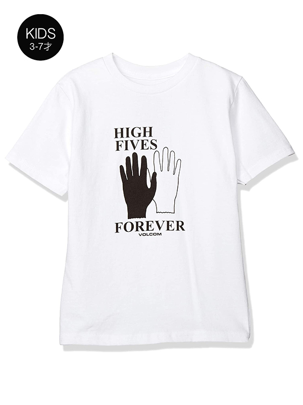 VOLCOM ボルコム キッズ(3-7才) Tシャツ 半袖 Y3512011 Para Siempre S/S Tee Little Youth
