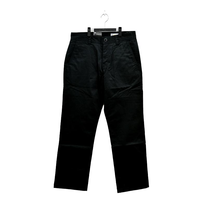 VOLCOM ボルコム メンズ スチノパンツ スケートチノ A1112104 Frickin Skate Chino Pant [BLK]