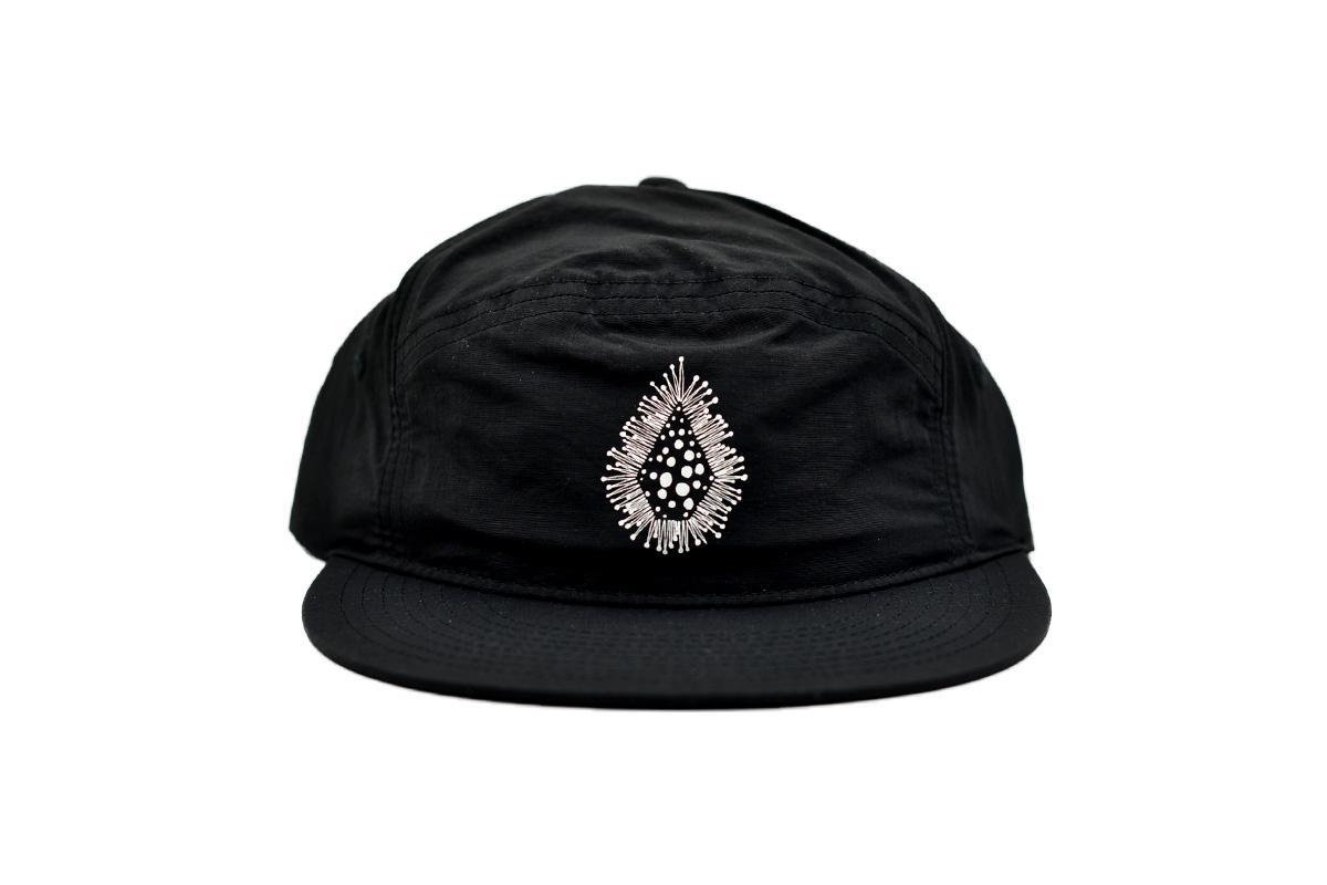 VOLCOM ボルコム メンズ ストラップバックキャップ 帽子 D5512109 Coral Morph [BLK]