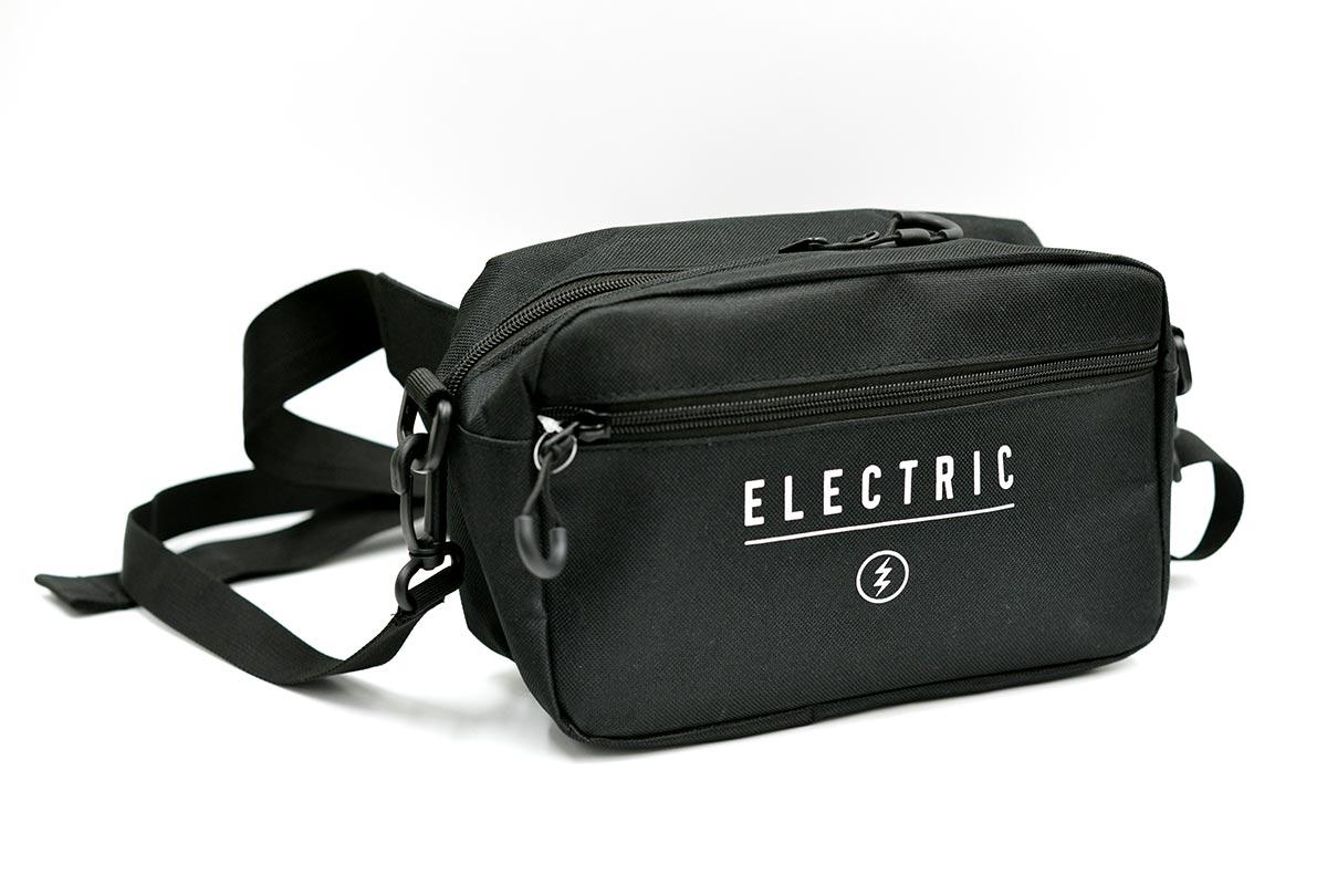 ELECTRIC エレクトリック 2WAYウエストバッグ E21SA04 2WAY WAIST BAG [BLK]