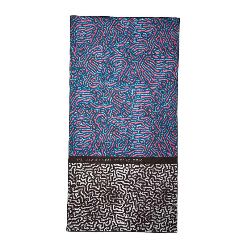 【50%OFF】 VOLCOM ボルコム ビーチタオル バスタオル D6712100 Coral Morph Towel [MLT]