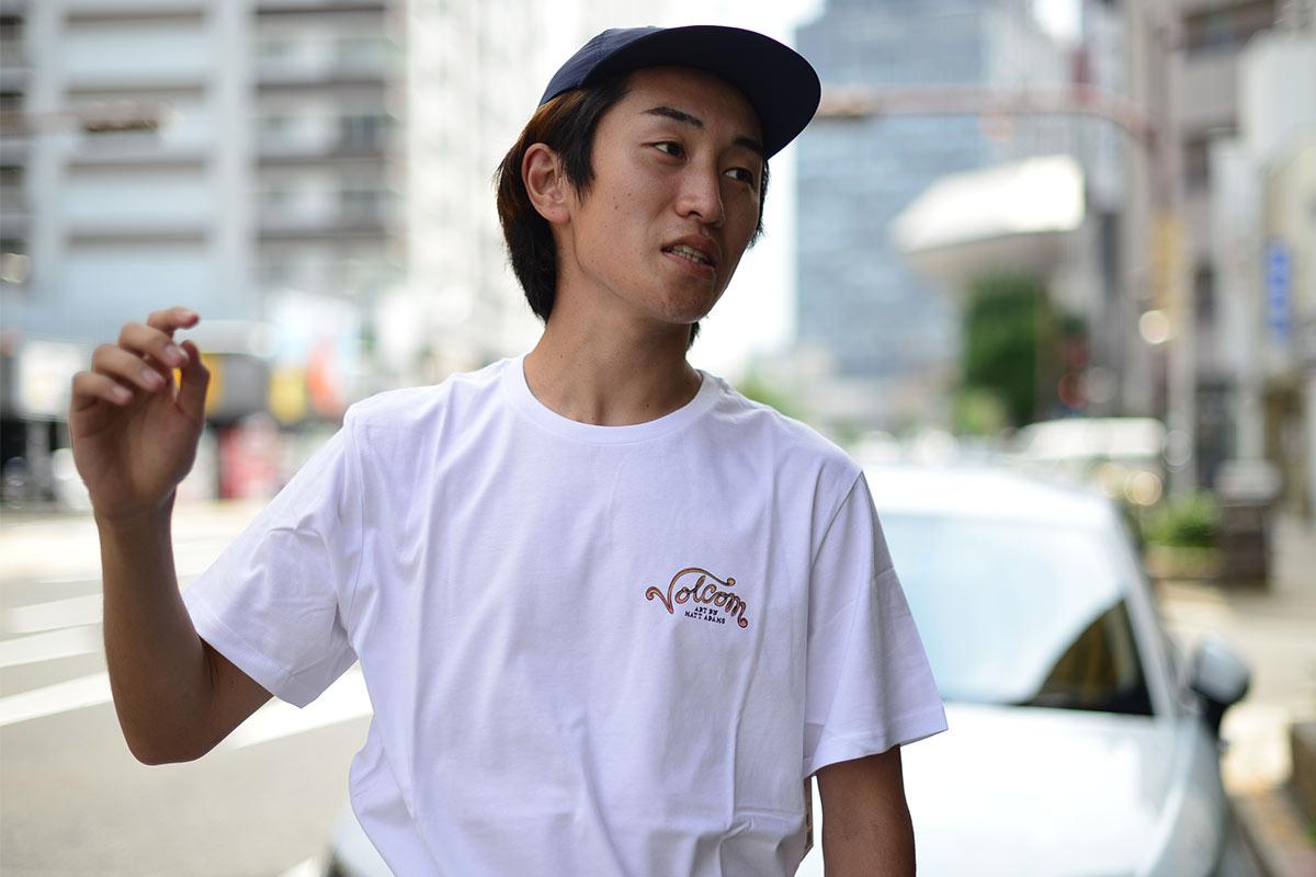 【30%OFF】 VOLCOM ボルコム メンズ アジアンフィットTシャツ 半袖 AF042007 Matt Adams [WHT]