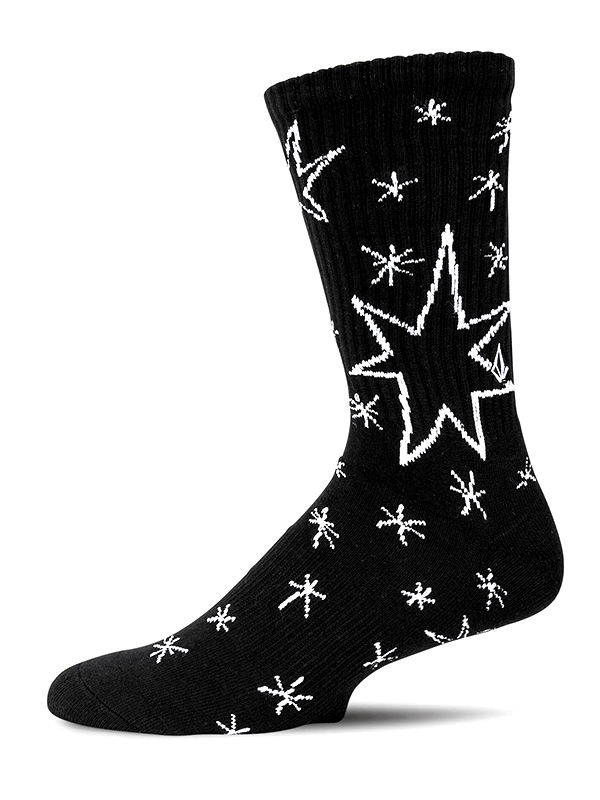VOLCOM ボルコム メンズ ソックス 靴下 D6312000 Constellations Sock