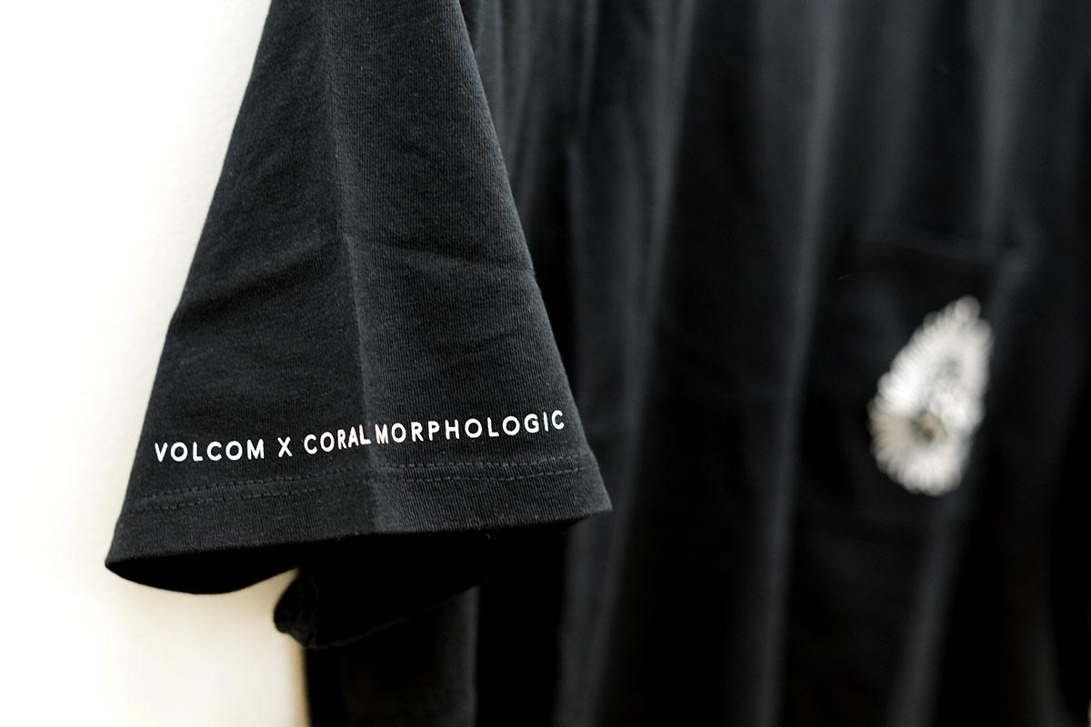 VOLCOM ボルコム レディース クロップドポケットTシャツ B3512108 Coral Morph S/S [BLK]