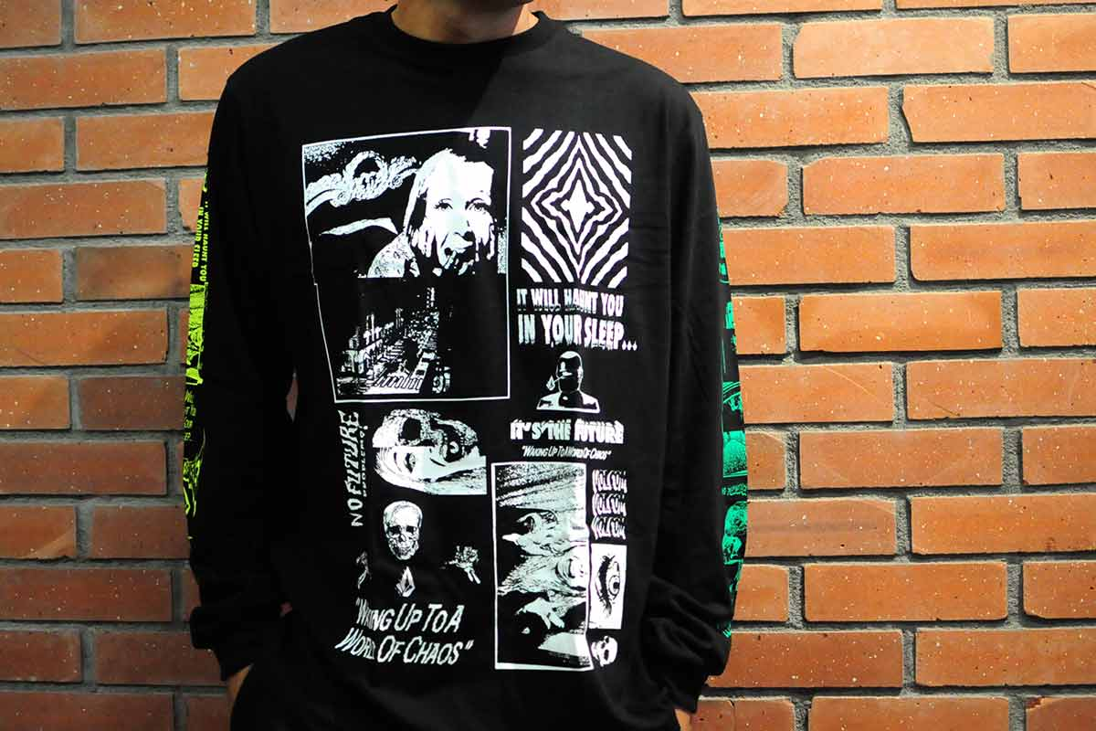 【WINTER SALE 20%OFF】 VOLCOM ボルコム メンズ ロンTee 長袖 A3632055 Bits Of Brain BSC LS