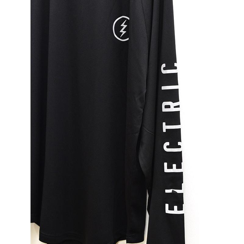 ELECTRIC エレクトリック メンズ ロングスリーブラグランTシャツ ドライロンTee E21ST01 DRY RAGLAN L/S TEE [BLK/REF]
