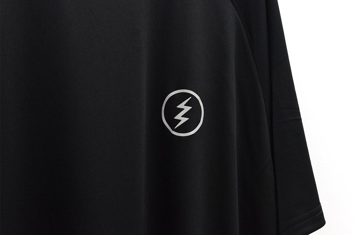 ELECTRIC エレクトリック メンズ ドライラグランTシャツ E21ST02 DRY RAGLAN TEE BACK PRINT [BLK/REF]