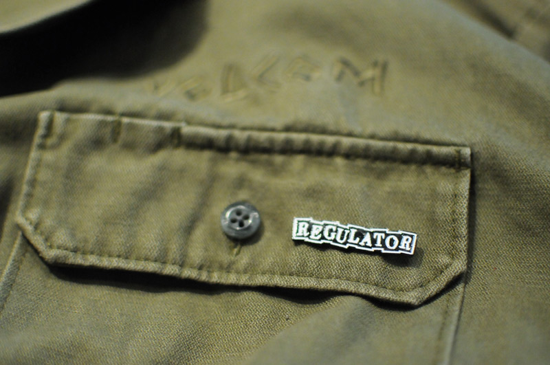 REGULATOR ROOTS LOGO Limited PINS [SIL] REGULATOR レギュレイト ピンバッジ ピンズ