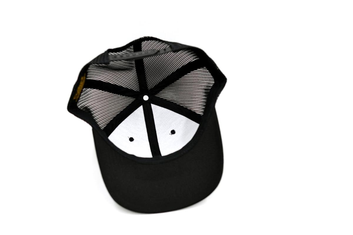 DRT ANGLERS CAMP ディーアールティー アングラーズキャンプ バスフィッシング メッシュキャップ 帽子 Mesh Cap [BLACK]