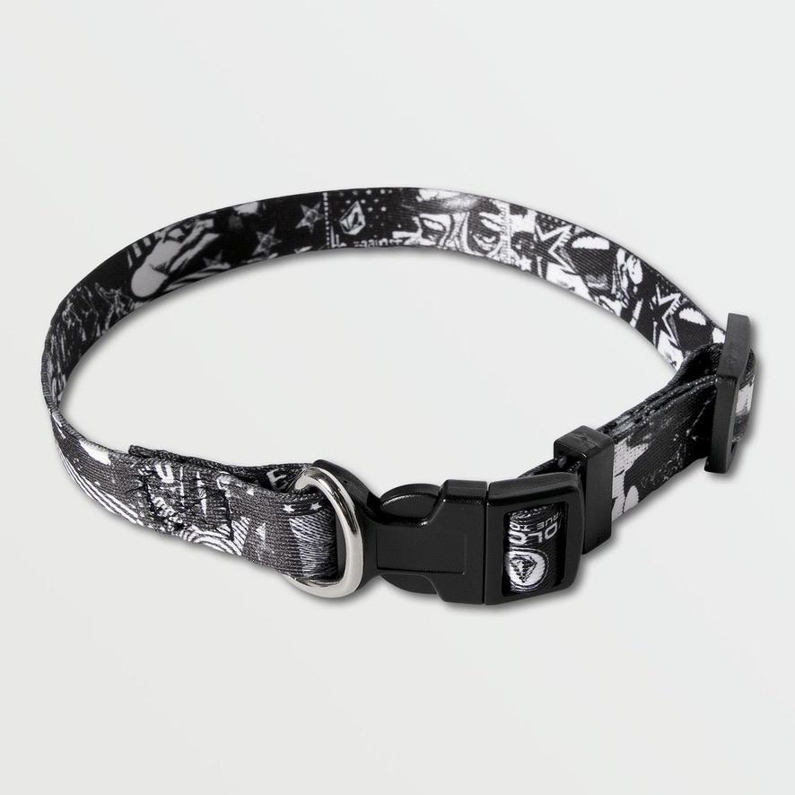 VOLCOM ボルコム 犬用首輪 D6702016 Collage Gog Collar [BWH]
