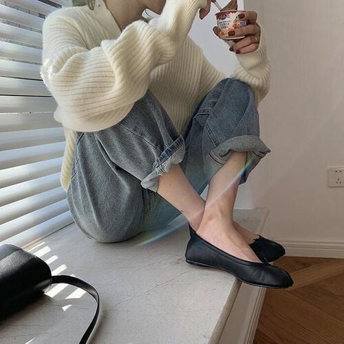 ニット カーディガン レディース クルーネックカーディガン 大人 上品 シンプル ショート丈 韓国 オルチャン 秋冬