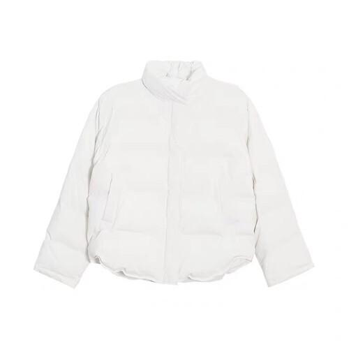 レディース ショート丈 エコダウン ジャケット 韓国 軽量 大きいサイズ アウター 冬 ライトダウンジャケット 冬服 防寒 防風 ブルゾン