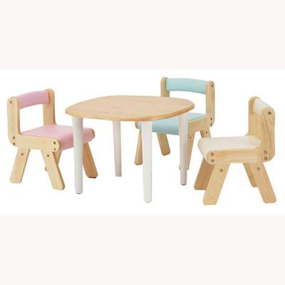 かわいい丸脚のキッズテーブル KDT-2145NA