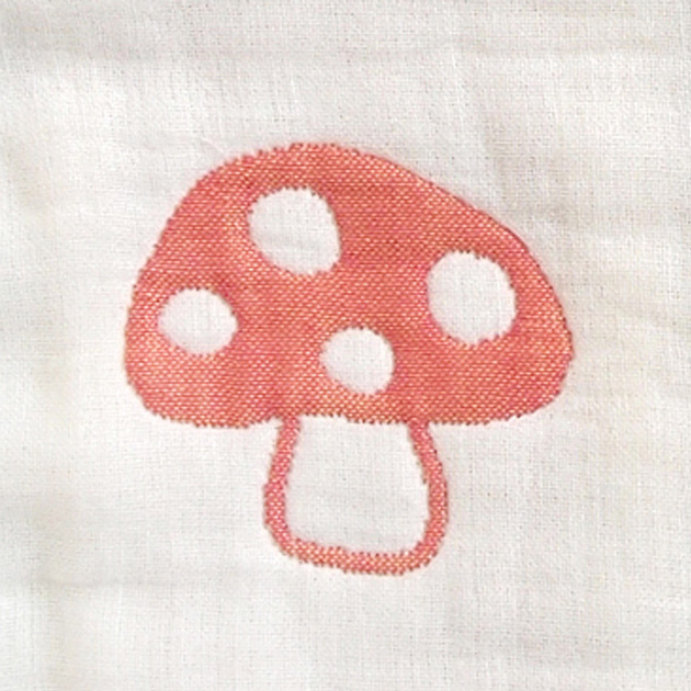 Hoppetta ホッペッタ champignon(シャンピニオン) ふくふくガーゼ 6重ガーゼスリーパー(ベビー) 【ラッピング対応】