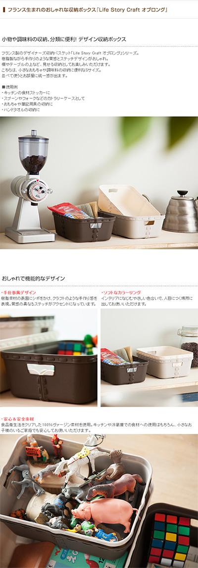 Life Story ライフストーリー craft クラフト オブロング Sサイズ (単品) 【袋ラッピング対応】