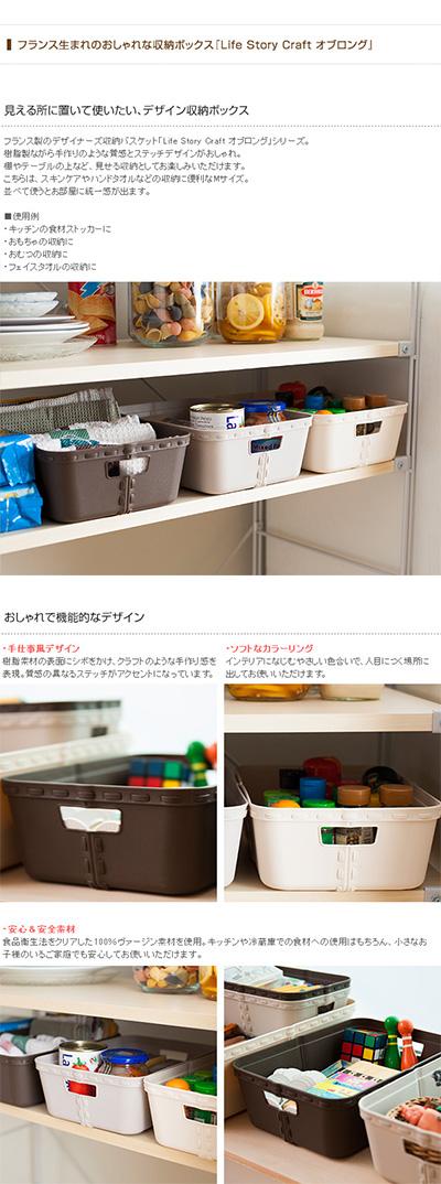 Life Story ライフストーリー craft  クラフト オブロング Mサイズ (単品) 【袋ラッピング対応】
