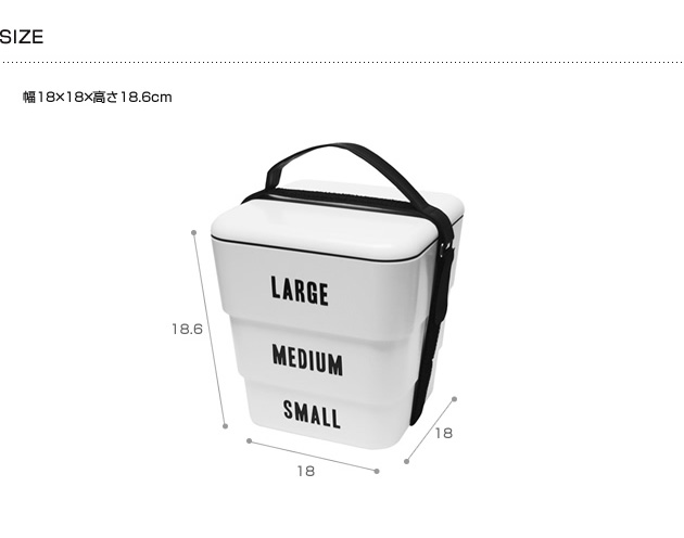 Floyd フロイド LABELED STACKABLE BOX 【ラッピング対応】