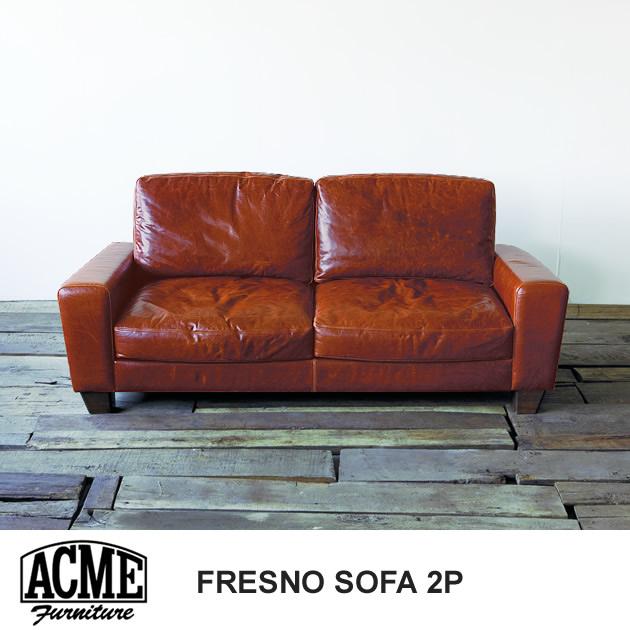 ACME Furniture アクメファニチャー FRESNO フレスノ ソファ 2人掛け