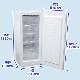 冷凍ストッカー(冷凍庫) 138L 前開き 引出し5段付 ノンフロン 急速冷凍機能付 RRS-T138【翌日発送・3年保証・送料無料】
