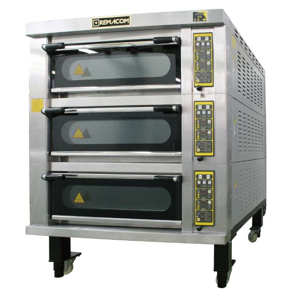 電気式デッキオーブン 幅1370mm 3段仕様(縦4枚差×3段) RDO-F43D 1年保証