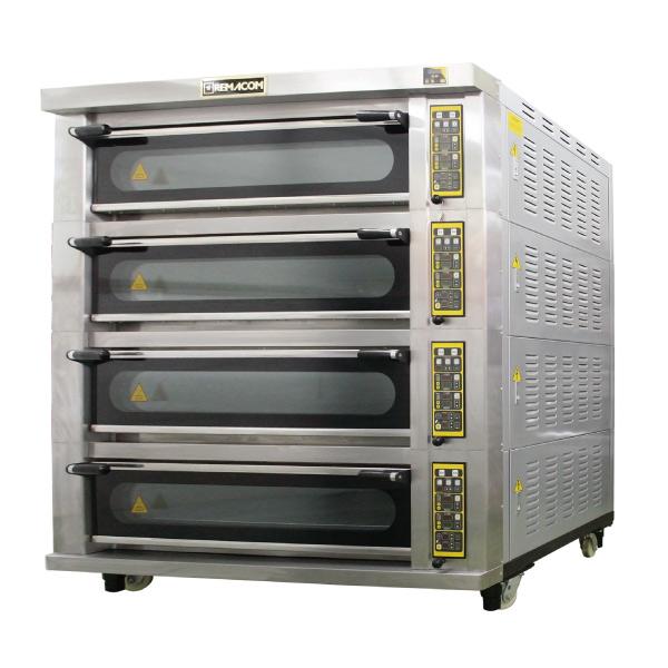 電気式デッキオーブン 幅1790mm 4段仕様(横4枚差×4段) RDO-F44F 1年保証