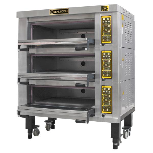 電気式デッキオーブン 幅1370mm 3段仕様(縦2枚差×3段) RDO-F23D 1年保証