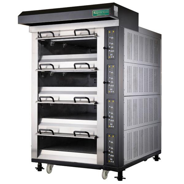 電気式デッキオーブン 幅1315mm 4段仕様(縦4枚差×4段) RDO-4ED 1年保証