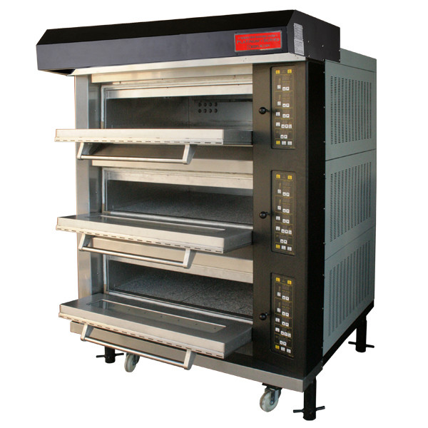 電気式デッキオーブン 幅1300mm 3段仕様(縦2枚差×3段) RDO-3YGC 1年保証