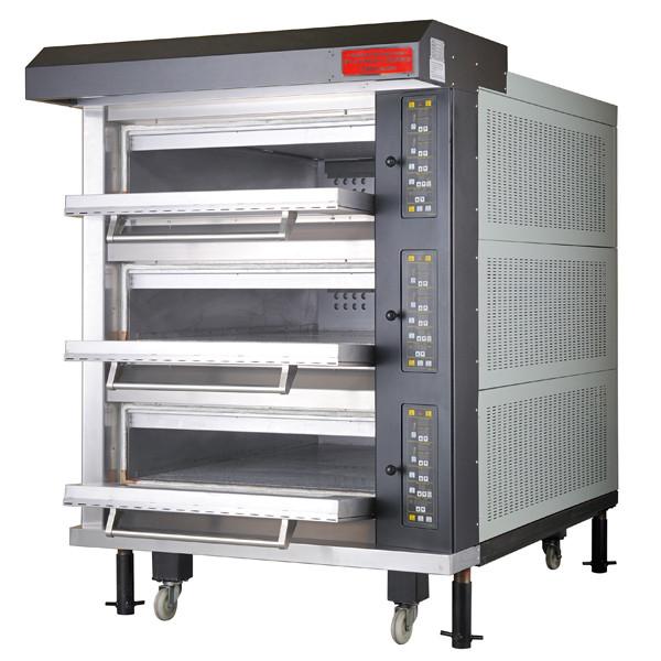 電気式デッキオーブン 幅1300mm 3段仕様(縦4枚差×3段) RDO-3YGD 1年保証