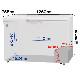 冷凍ストッカー ( 冷凍庫 )  375L 急速冷凍機能付 -20℃ RRS-375 送料無料・3年保証
