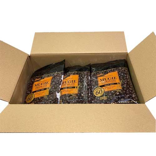 クール便■ 【12袋入BOX】 麦チョコ ■ ムーギチョコレート【カカオ60】 95g