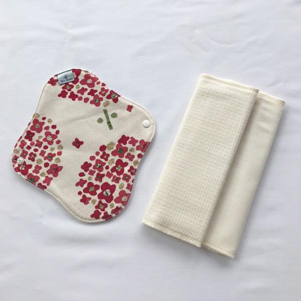 Lulu Gause ホルダー&ハンカチ布ナプキンセットSサイズ【ネコポス可】北欧あじさい