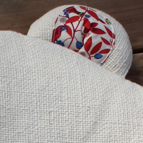トッポ ンチーノ 手紬 (新生児の抱っこ用・お子様の枕用)「名入れ刺繍可能」 【送料無料・ネコポス不可】