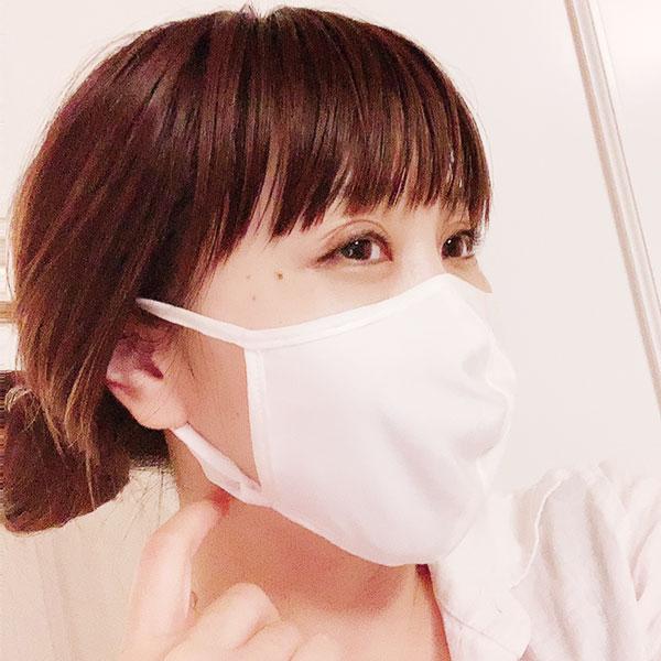 絹糸紡 国産シルクマスク アジャスター付【ネコポス可】