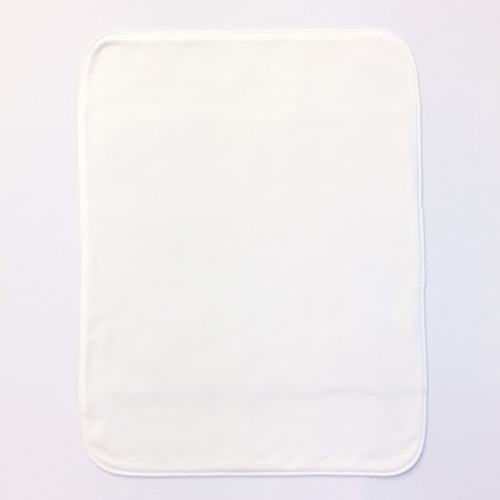 布ナプキン [多い日・夜用] ハンカチL3折 シルク ステッチ仕上げ【DM便送料無料】