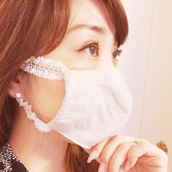 【即納】オーガニックリネン マスク 立体マスク 蒸れない 苦しくない【ネコポス可】