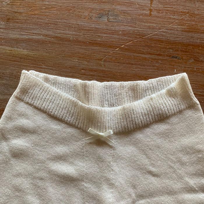 予約商品[7月限定染め色月明り]絹糸紡 シルクゆるふわマシュマロショーツ マリーゴールド染め【ネコポス可】