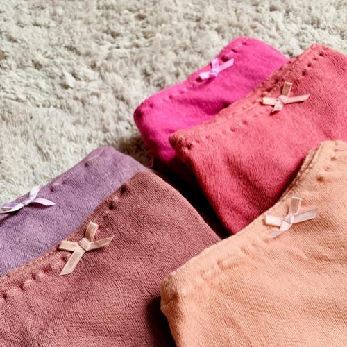 【予約】 絹糸紡  快楽の極み シルクコットンショーツ 草木染全13色 【DM便送料無料】