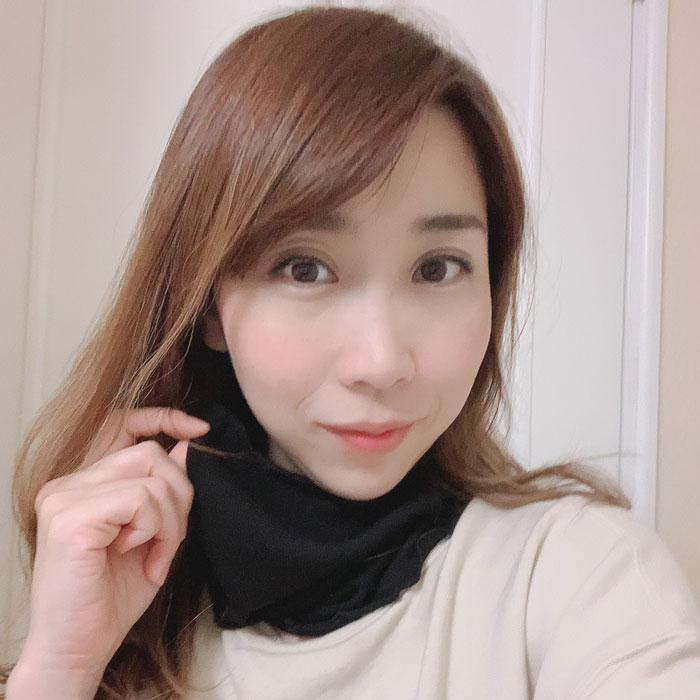 絹糸紡 シルクネックウォーマーマスク【ネコポス可】