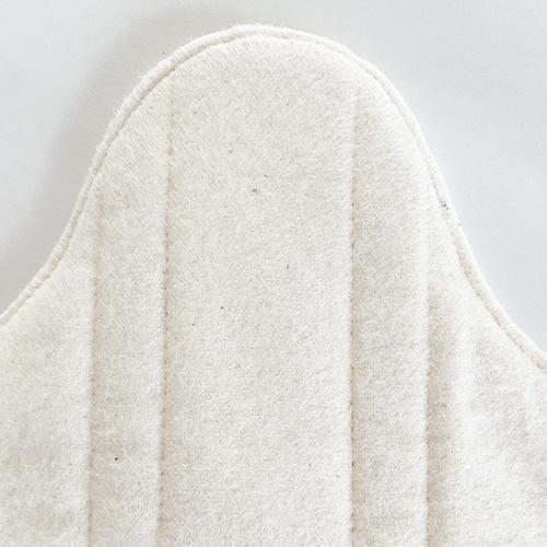 防水一体型[おりもの・軽い日用]布ナプキン (防水あり) So Cute選べる6色【ネコポス可】