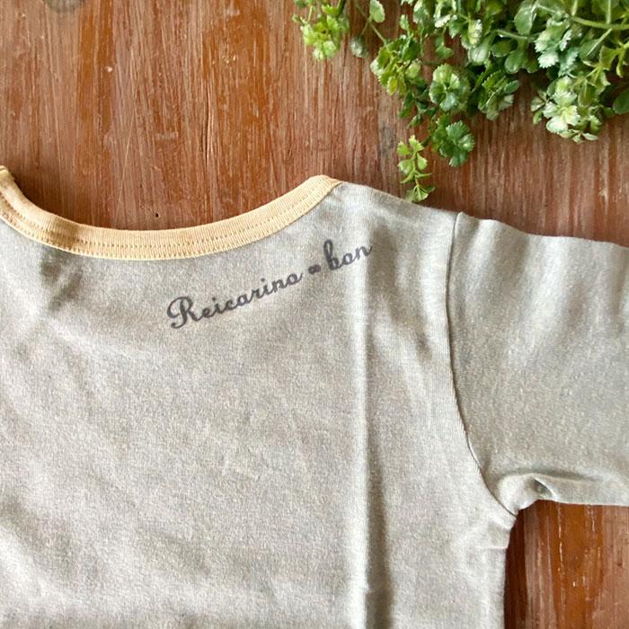 ボタニカルダイ ベビーキッズTシャツ100-110cm Reicarino∞bon 【ネコポス可】 選べる4色