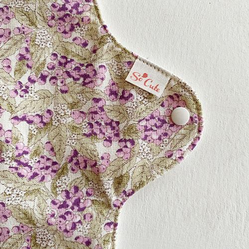 布ナプキン[普通の日]昼用ホルダーSサイズ 防水あり Happy Days【ネコポス可】選べる色柄