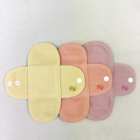 薬効草木染ガーゼミニライナー (防水布なし) 選べる3色!【ネコポス可】