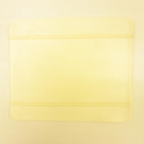 布ナプキン [普通の日] ハンカチS3折 オーガニックリネン ステッチ仕上げ【ネコポス可】