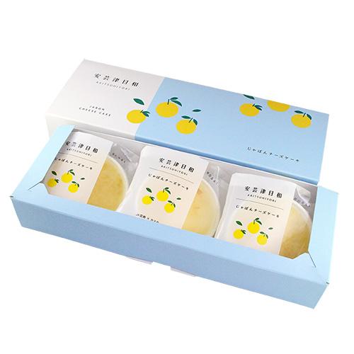 【カスターニャ】安芸津日和−じゃぼんチーズケーキ− 6個セット