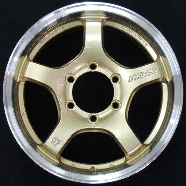 送料無料 200系ハイエース 国産・軽量ホイール RAYS レイズ グラムライツ 57CR-X ゴールドリムDC 215/60R17 グッドイヤー ナスカー