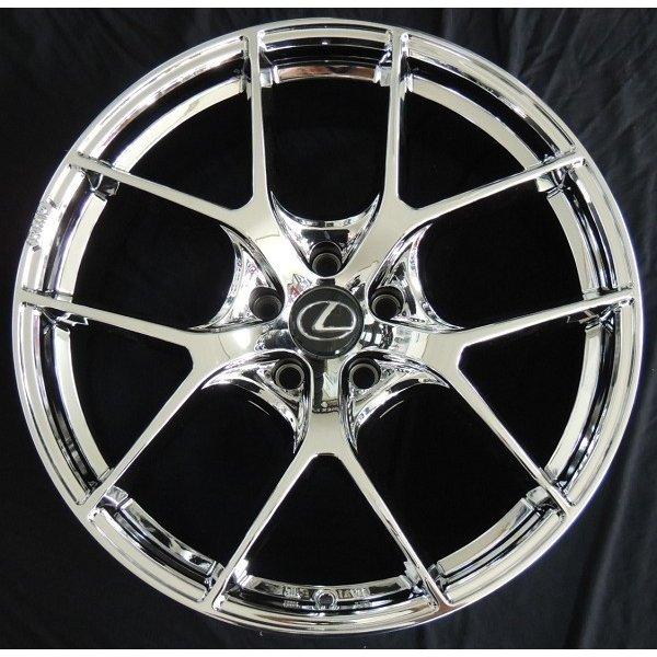 送料無料 レクサスRX RMP 025F-fL スーパーブライトクローム 車種専用サイズ レクサス純正センターキャップ専用設計 235/55R20 国産タイヤセット