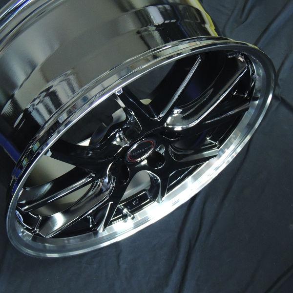 送料無料 レクサスUX C-HR CHR エスティマ MID ヴァーテックワンEXE5 225/50R18 タイヤ ホイール4本セット