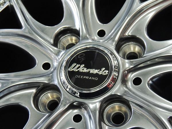 送料無料★モンツァ ワーウィック ディープランド 165/45R16 タイヤセット タント スペーシア ウェイク ムーヴ